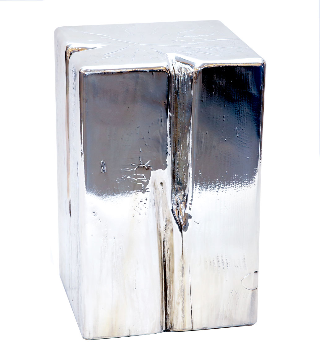 Msquare Gallery item Cubes square silver  (top chrom/silver)