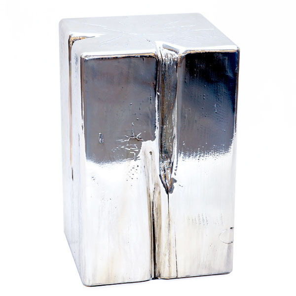 Msquare Gallery Product Cubes square silver  (top chrom/silver)