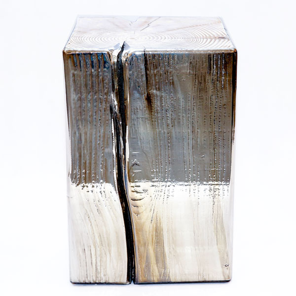Msquare Gallery Product Cubes square silver  (raw top)