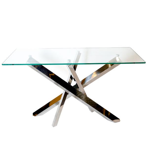 Msquare Gallery Product Console  baguette plateau verre