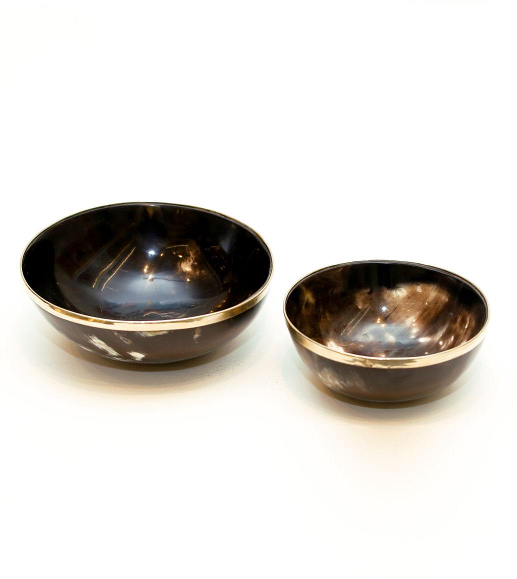 Msquare Gallery item Round horn bowl medium